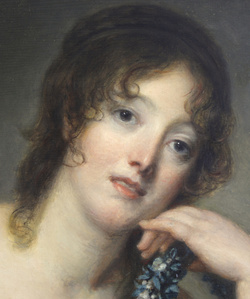 Portrait of Jeanne Philiberte Ledoux (1767–1840), half-length