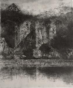 Study of Sunlight - Wardour Castle