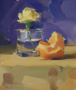 Still Life, Carnation Orange