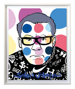 Tomorrow I'll be famous - Damien Hirst