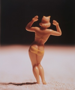 Untitled (Woman with arms raised from behind)