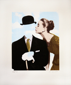 Kissing Magritte II