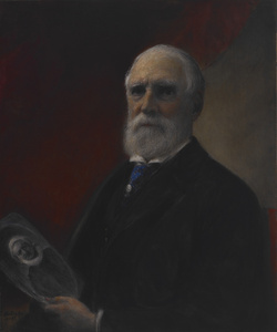 Portrait of Samuel Putnam Avery (1822-1904)