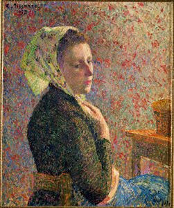Femme au Fichu Vert (Woman with Green Scarf)