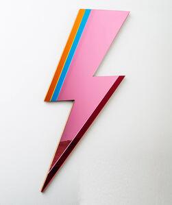 Lightning Mirror - Pink