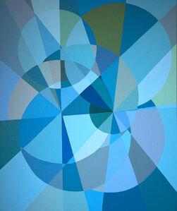 Blue Multiverse Spiral