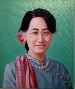 First Lady Project- Aung San Suu Kyi