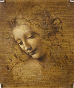 Head and Shoulders of a Woman (La Scapigliata)
