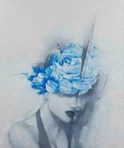 Lip Language- Blue Peony