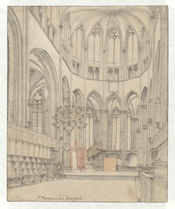 The Choir of Utrecht Cathedral