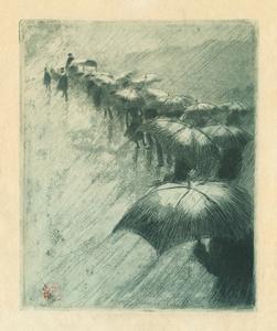 L'Enterrement aux Parapluies
