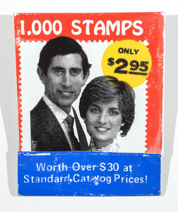 1000 Stamps (Prince Charles, Lady Diana)