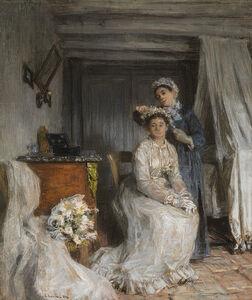 La couronnement de la mariée