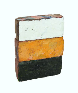 """Historical Bricks III """"from Hudson River in Poughkeepsie"""" (front)"""