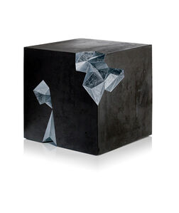 Monolith Stool and Side Table