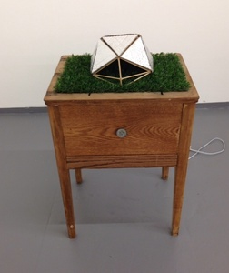 Untitled, (Geodesic Table)
