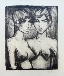 Two Girls - Half Nudes | Zwei Mädchen - Halbakte