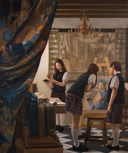 Anecdotes in Art History III - Vermeer Class Room