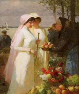 La vendeuse des pommes (The Apple Seller)