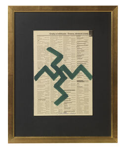 Untitled (Newsprint)