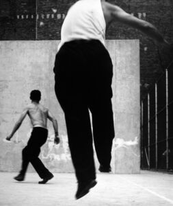Handball Players, Houston Street, New York