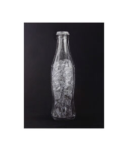 """Formalizing their concept: Luis Camnitzer's """"Coca-Cola bottle filled with Coca-Cola bottle, 1973"""""""
