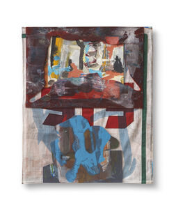 Untitled (Red/Blue Eis)
