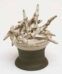 Pile of fingers on stand