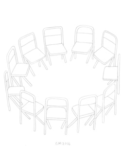Untitled (Chairs in a Circle)
