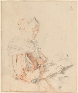 Young Girl at the Keyboard