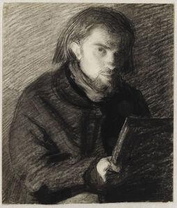 Autoportrait dessinant