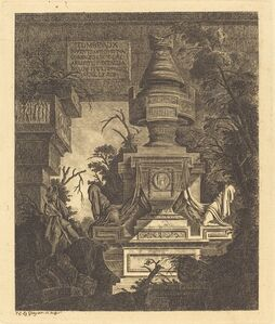"Frontispiece for ""Views of Tombs"""
