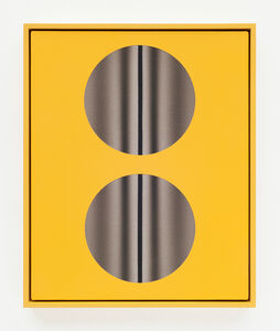Double Lens (Yellow with lines)