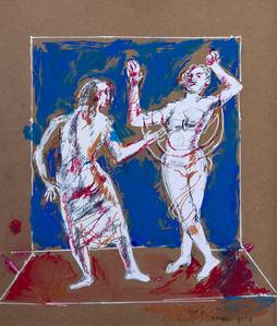 Dal dialogo conil cardinal Cornaro: elogio alla donnadesnuda che danza