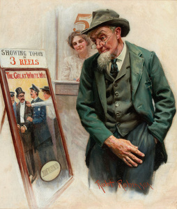 Saturday Evening Post Cover, 17 May, 1913