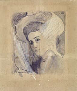 Study for the portrait of a lady