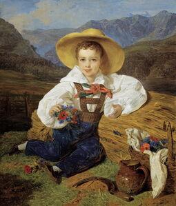Count Demetrius Apraxin as a Child