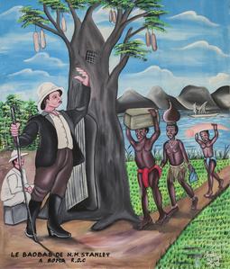 Le baobab de H.M. Stanley à Boma