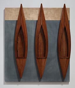 Three Fir Boats, Blackboard, Golden Board