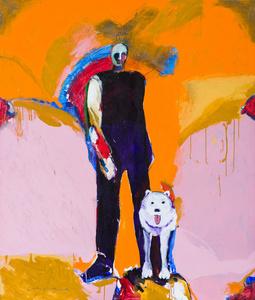 Man & Dog #17
