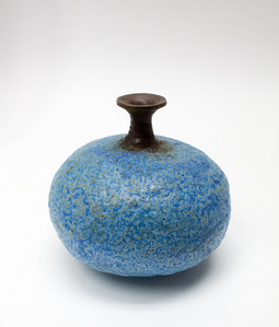 Blue Lava Glaze Vase