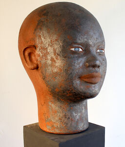 Head with Graphite Face