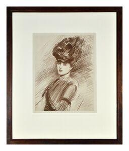 Portrait de Femme au Chapeau