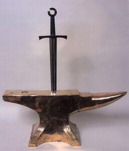 King Arthur's Sword (study)