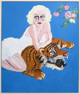 Jean Tiger Skin
