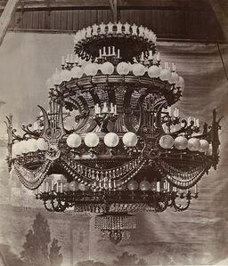 Le Nouvel Opera de Paris, Bronzes, Candelabraes, Lustres, Torcheres--Appliques--Lampadaires