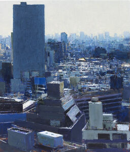 Ikebukuro from Hotel Window 2, Late Morning