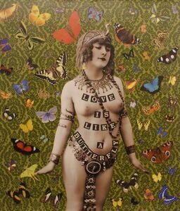 Love is like a Butterfly (Green) 2015