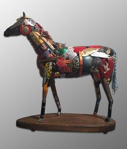 Horse, maquette