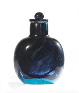 Shaded Blue Bottle